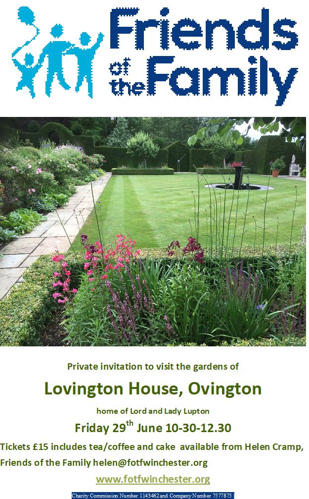 Lupton Garden Opening @ Lovington House, Ovington