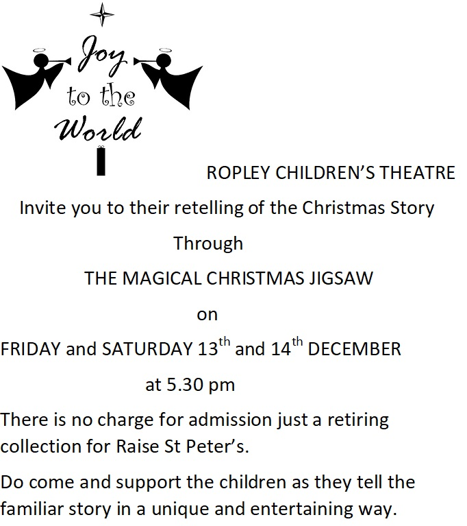 THE MAGICAL CHRISTMAS JIGSAW @ Parish Hall