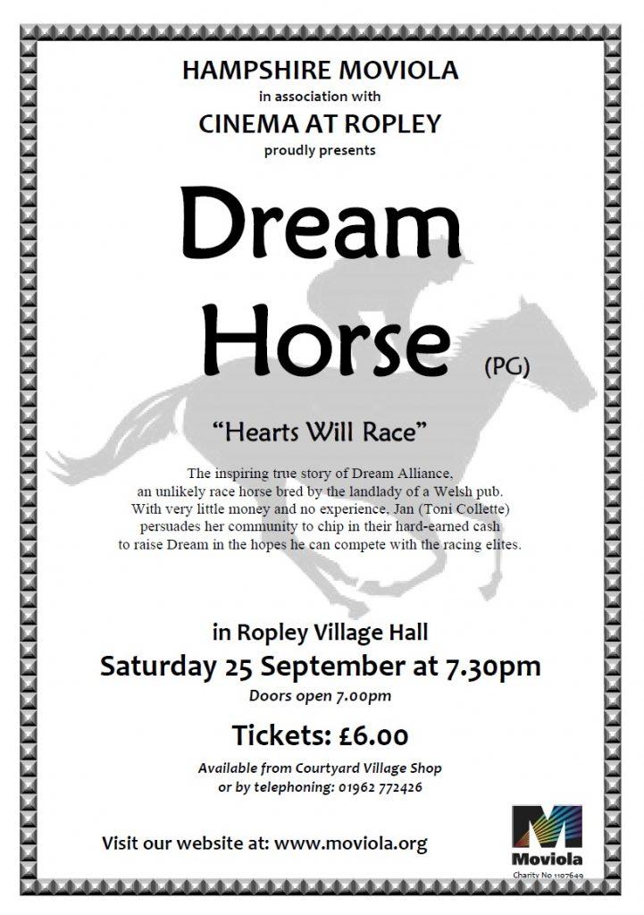 Moviola - Dream Horse @ Parish Hall